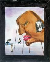 Hommage à la figuration narrative - 41x33