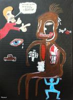 Not a Basquiat - 30x40