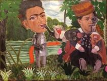 Frida et Diego-60x45