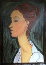 Pas Modigliani mais Genskof - 55x38