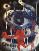 L'oeil Bleu - 30x40