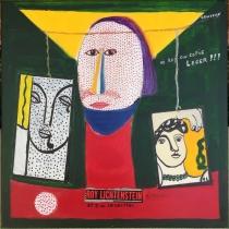 Roy lichtenstein - 50x50