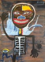Salut Basquiat - 46x33
