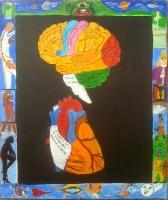 Cerveau et Coeur - 46x55
