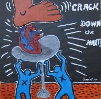 Crack down - 20x20