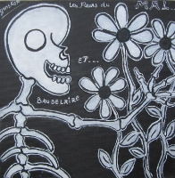 Les fleurs du mal - 20x20
