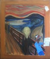 Le dernier Munch - 55x46