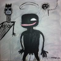 Salut Basquiat - 40x40