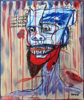 Portrait d'Egon Schiele - 55x46