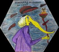 Portrait de Silverman - 30x30