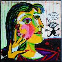 Pas Picasso - 30x30