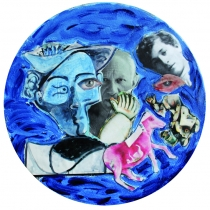 Picasso et Chagall - 20x20
