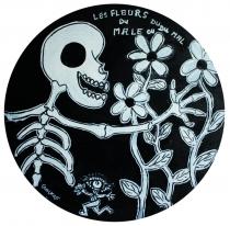 Fleurs du mal - 30x30