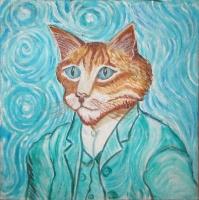 Van Gogh's cat - 30x30