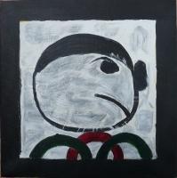 Homme triste - 30x30