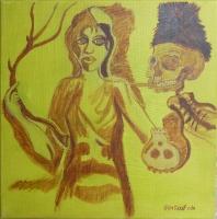 La jeune fille et la mort - 73x60