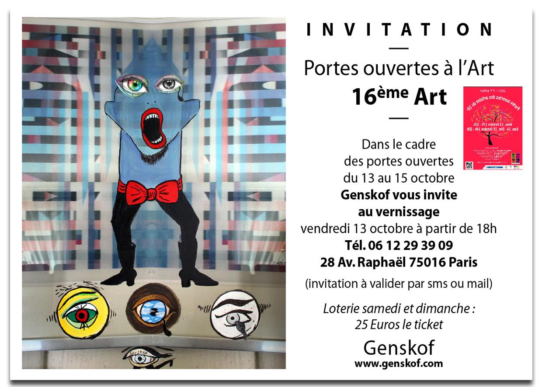 Invitation Genskof portes ouvertes 2017